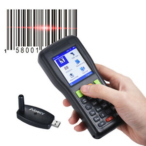 Color Lcd 433mhz Wireless Barcode Data Collector Inventory Scanner Engine K8k6