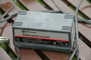 Battery Charger Schumacher 1 Amp Trickle 6 Volt And 12 Volt Used