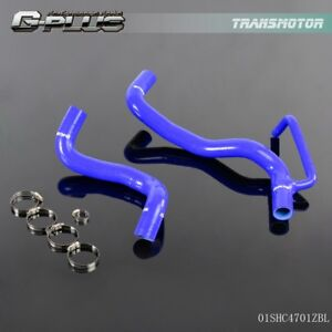 Blue Silicone Radiator Hose Kit For 2008 2011 Toyota Scion Xb T2b 1nz 2zr 2az Fe