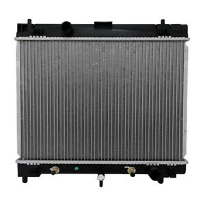 Replacement Radiator Fit For 2007 2010 Toyota Yaris Scion Xd At Mt New