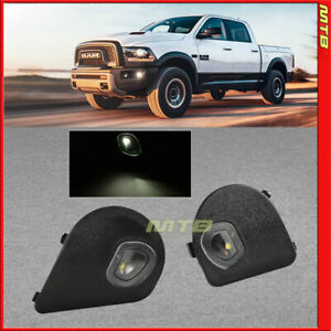 Mirror Side Puddle Lights For Ram 10 19 1500 2500 3500 4500 5500 Led Truck Lamps