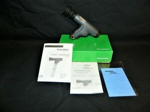 Welch Allyn Panoptic Ophthalmoscope Head Model 11820 W Box Manuals