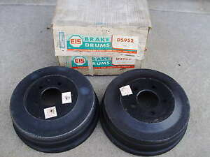 1971 1972 Challenger Charger Cuda Coronet Brake Drums Front 11x3 Nos New