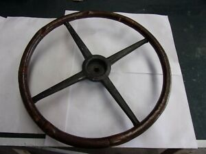 Ford Model T Steering Wheel Oriinal Wooden Steering Wheel 17 Inches
