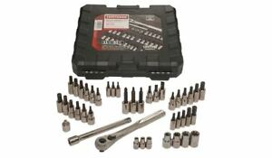 Craftsman 42 Piece 1 4 And 3 8 inch Drive Bit And Torx Bit Socket Wrench 9 34845