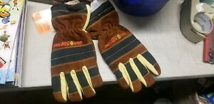 Pro tech 8 Titan Structural Firefighting Long Cuff Gloves Size Xl New