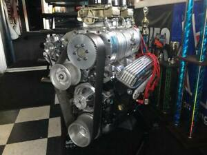 Chevy 406ci Engine With Blower