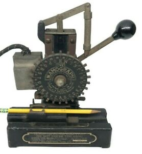Vintage Midwestern Tool Chicago The Namograph Stamp Press