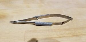 Karl Storz E3828 Sw Barraquer Needle Holder 9mm Straight