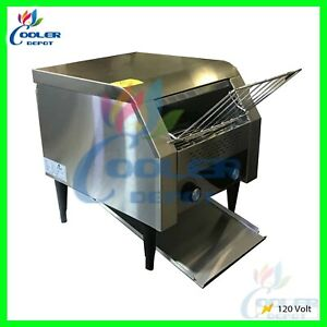 Deluxe Conveyor Toaster Commercial Restaurant 3 120v Oven Electric