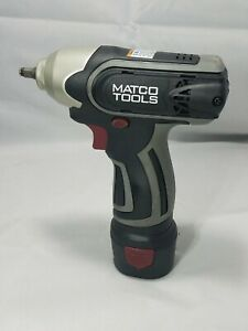 Matco 12v Impact Wrench Mtc1214iw Mtc1214 1 4 With Battery Mtc1215lb