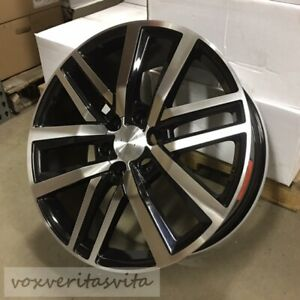 22 New Prado Style Black Machine Wheels Rims Fits Toyota Fj Cruiser Prado Hilux