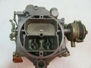 1955 Carter Carburetor Dodge D55 Std Od Trans Plymouth P 27 All Trans 4bbl