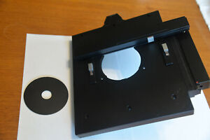 Leica Dmil Microscope Stage And Mechanical Portion For Well Plates Holders