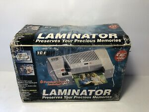 Tde Systems Hl 406 4x6 Laminator Perfect For Ids Badges Prompt Cards Tested