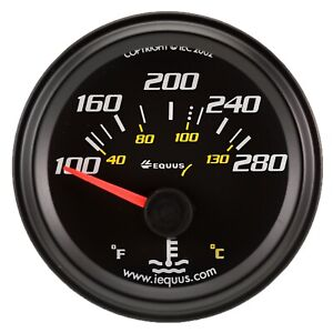 Equus 6262 6000 Series Water Temp Gauge