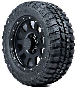 Set Of 4 Federal Couragia M t Mud terrain Tires Lt265 70r17 10ply Rated