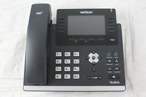 Verizon Yealink Sip t46g Ultra elegant Gigabit Ip Phone No Stand