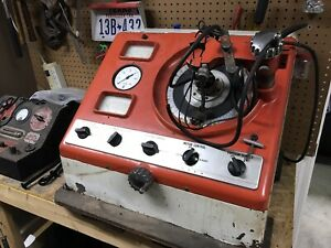 Allen Syncrograph Ignition Distributor Machine Tester