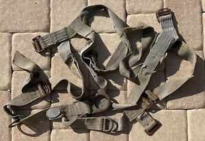 Rose Vintage Climbing Harness 502525 Body Safety Lineman 1995 Mfg Co Prop Tool