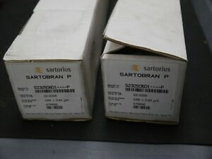Sartorius Sartobran P Filter 5232506d1 p 0 65 0 45 m 576692 Lot Of 2