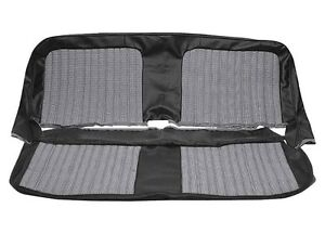 1967 72 Pui Brand Chevy Pickup Front Bench Seat Upholstery Houndstooth Cloth