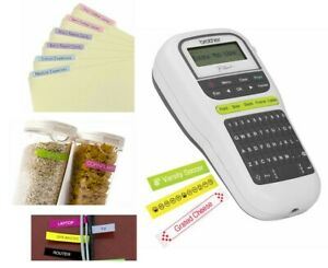 New Portable Label Maker Lightweight P touch Brother Home Office School