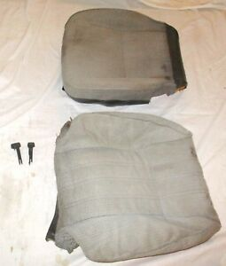 Honda Civic Wagon 88 89 Front Seat Gray Oem Fabric Skin Foam R Or L Fr Cover