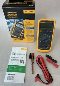 Fluke 87v 87 5 Industrial True rms Multimeter W Temperature 2074974