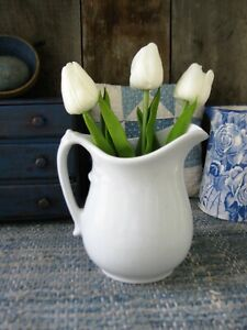 Antique Johnson Brothers Ironstone Pitcher England Free Shipping