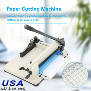Heavy Duty 12 Inch A4 Paper Cutter Guillotine Trimmer Cutting Machine 400 Sheets