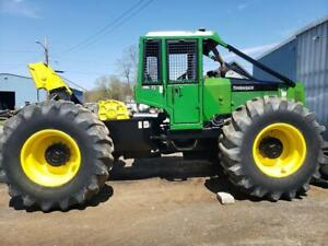 1995 Timberjack 450c Cable Skidder Good Condition