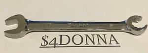 Snap on Rxs22bs 11 16 Sae Open End And Flare Nut 12 point Line Wrench New Usa