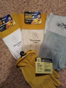 Tillman Tig Welding Gloves 1pair 1pair Mig 1pair Mig Heavy Gloves 1pair Drivers