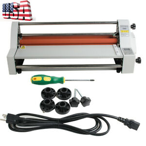 Usa 17 hot Cold Roll Laminator Single Dual Sided Laminating Machine 2019
