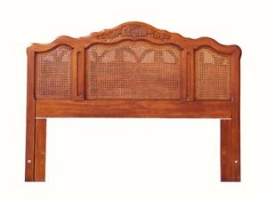 Queen Full Headboard Cane Headboard French Provincial Bed