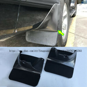 For Toyota Land Cruiser Prado Fj120 2003 2009 2pcs Rear Mud Flaps Splash Guard