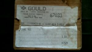Gould 67033 Power Distribution Block 600v 3p free Shipping