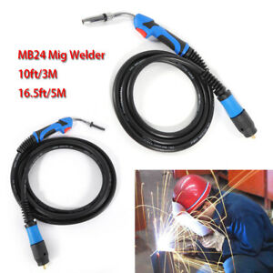 Miller Mb 24kd Mig Welding Gun Torch Stinger 16 5 Ft 5m Welder Replacement