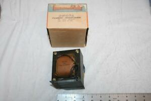 Thordarson 21f07a Filament Transformer 117v To 5vct At 29a Vintage Usa