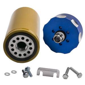 Fuel Filter Adapter Kit Blue New For Chevy Gm Duramax Chevrolet 6 6l 2001 2016