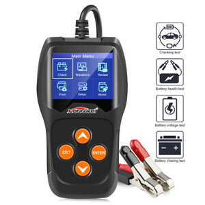 12v Car Battery Tester Konnwei Kw600 Digital Auto Battery Analyzer 100 2000cca