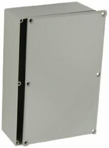 Bud Industries Cu 247 g Enclosure Box Aluminium Gray