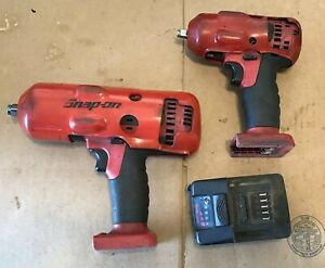 Snap On Cordless Impacts 1 2 3 8 Ct8850 Ct8810a Battery No Charger