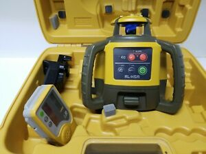 Topcon Rl h5a Self leveling Rotary Grade Laser Level Slope Transit