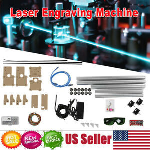 100 240v Diy Desktop Laser Engraving Cutting Machine Engraver Printer Cutter New