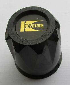 Keystone Wheel Black Center Cap 210779 Black Plastic New