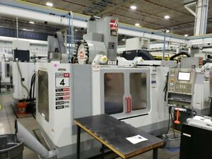 Used Haas Vf 4ss Cnc Vertical Machining Center Mill 12k Rpm Super Speed 30hp 04