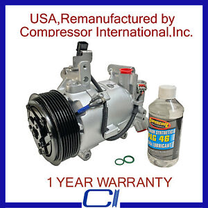 2016 2018 Honda Civic 2 0l Oem Reman A C Compressor