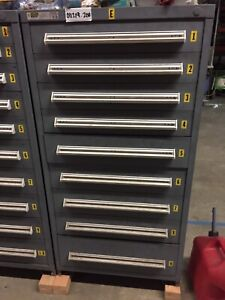 Stanley Vidmar 9 drawer Tool Cabinet Large Tool Box